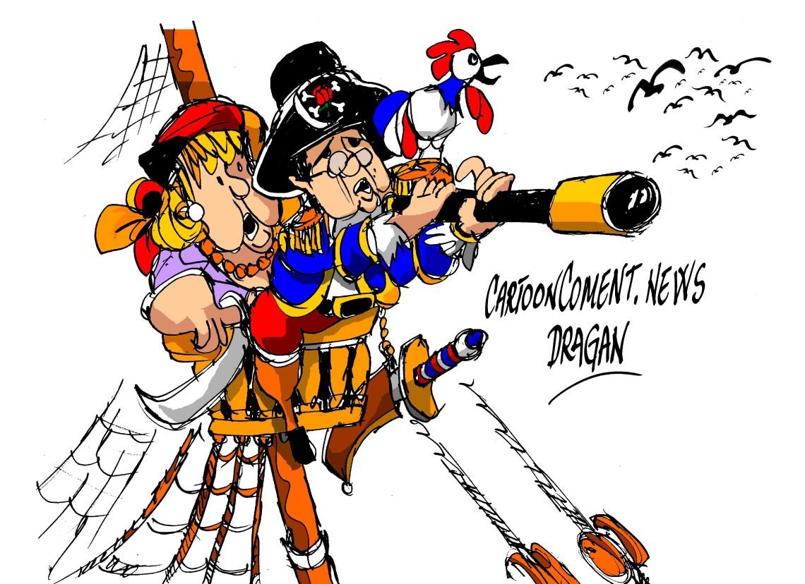 """Merkel y Hollande-""""dirección a Moscú"""""""