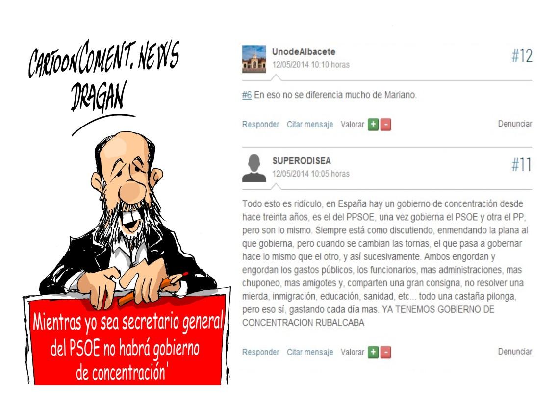 "Alfredo Pérez Rubalcaba-""afirmacion"""