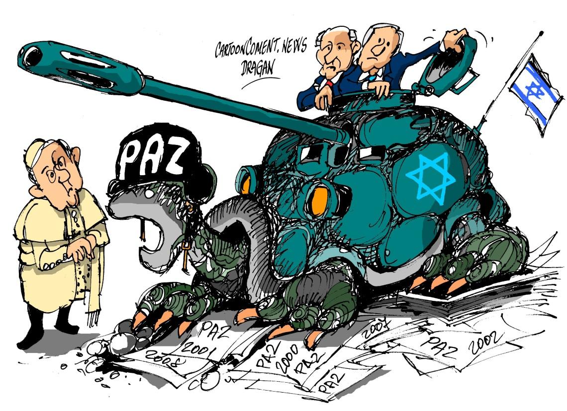 "Francisco-Peres-Netanyahu-""Paz"""
