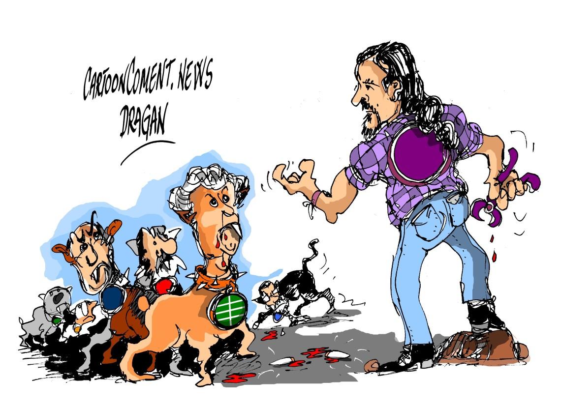 A la caza de Pablo Iglesias