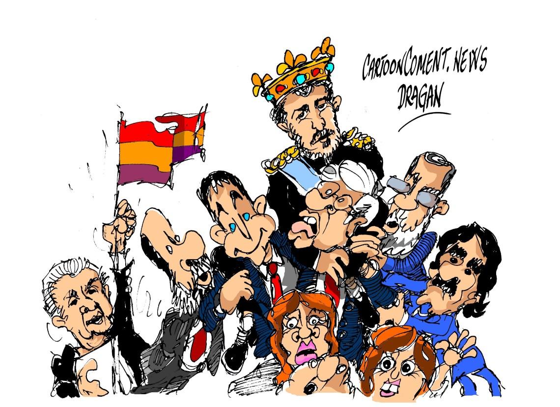 """Cayo Lara-PP-PSOE-""""castillo"""""""