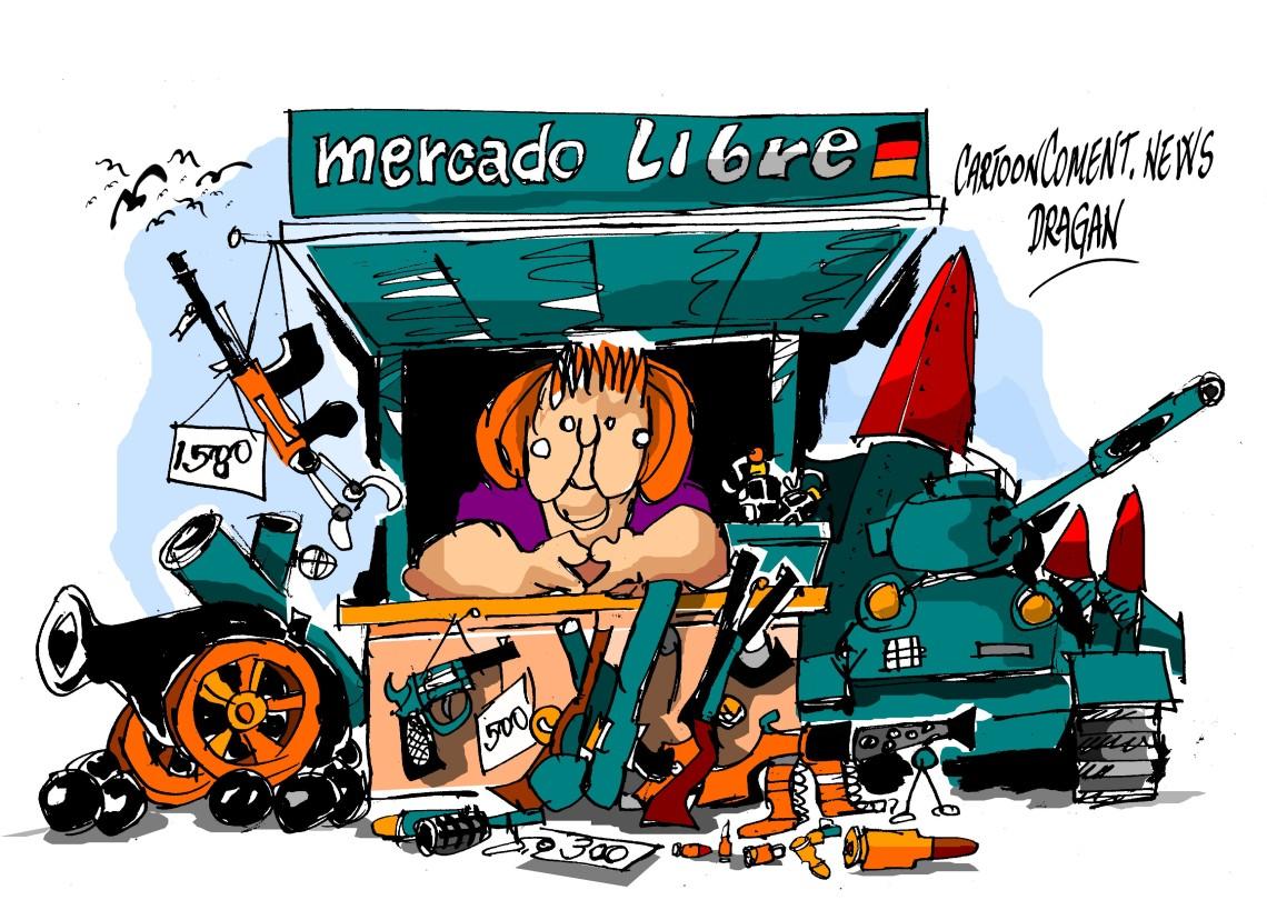 "Angela Merkel-""mercado libre"""