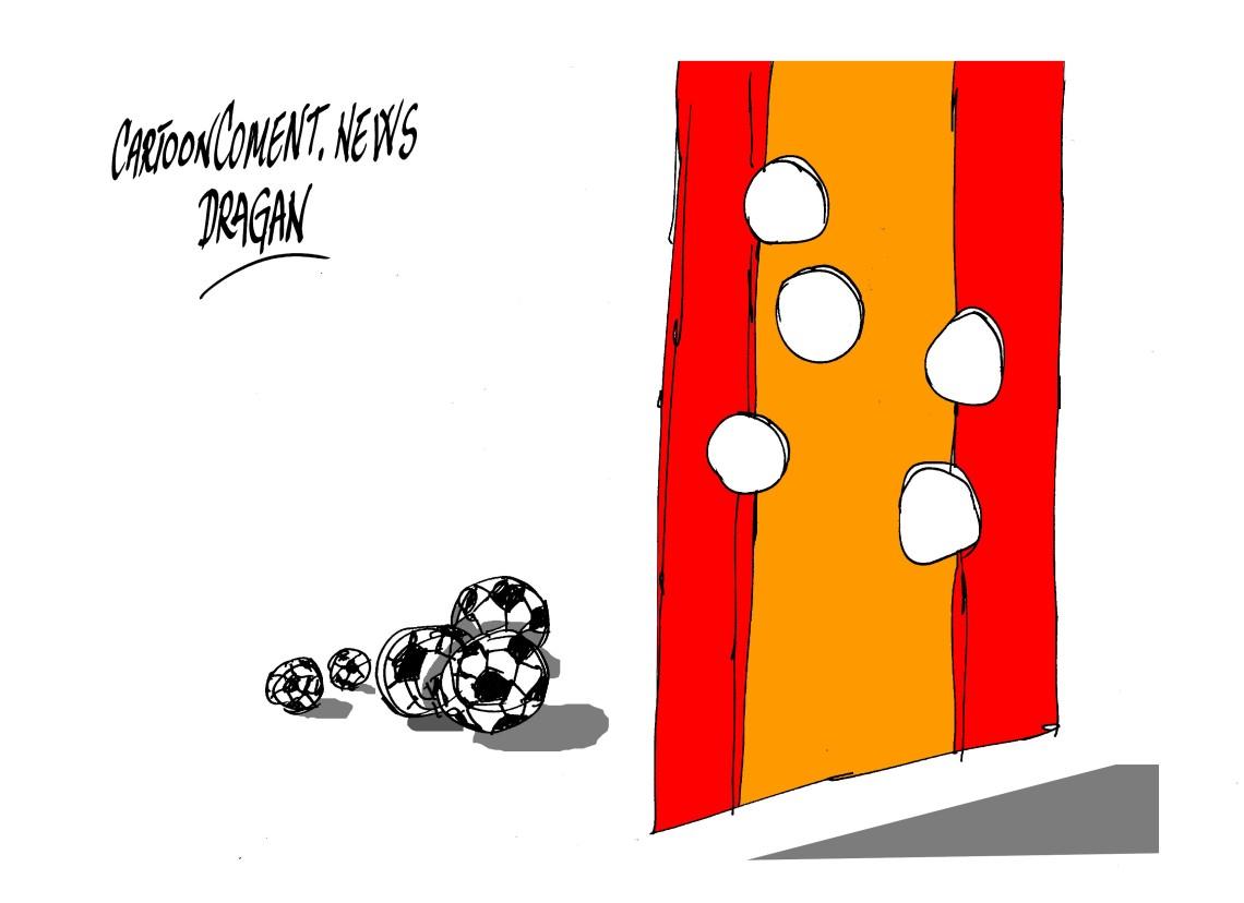 España 1-Holanda 5