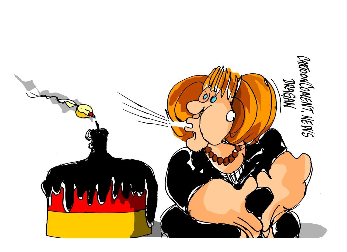 """Angela Merkel-""""cumpleaños"""""""