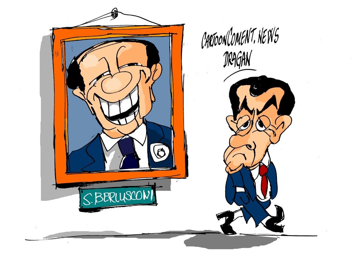 Sarkozy=Berlusconi