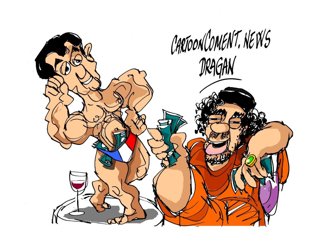 Nicolás Sarkozy-Gadafi