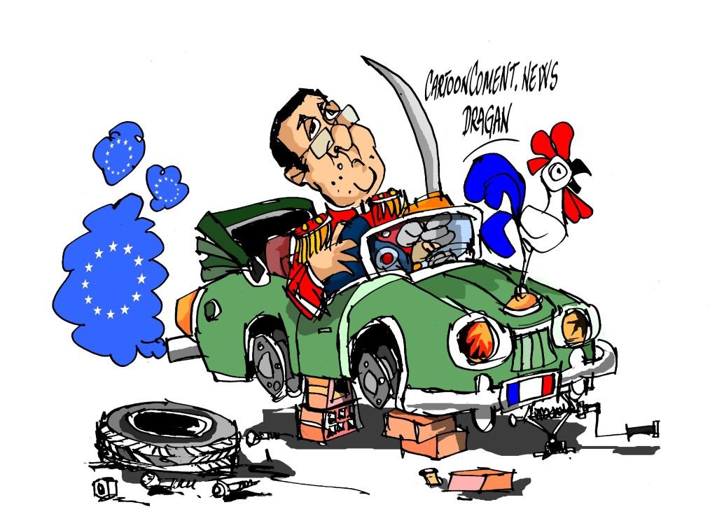 """François Hollande-"""" avanzando """""""