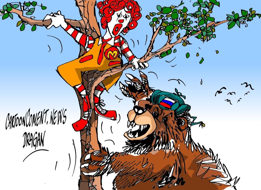 Rusia-McDonald's