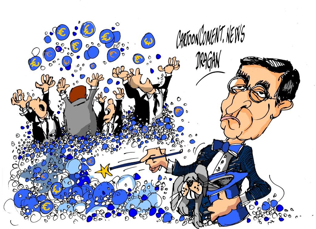 "Mario Draghi-""pompas de jabón"""