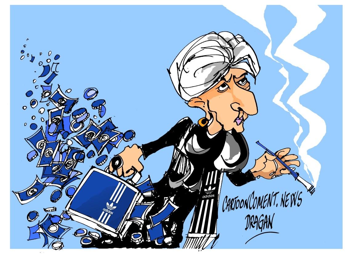 "Christine Lagarde-""Adidas"""