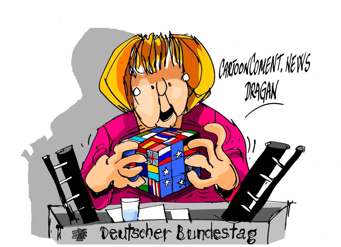 """Angela Merkel-""""solución"""""""