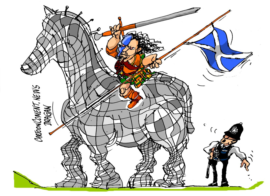 "Escocia-""William Wallace"""