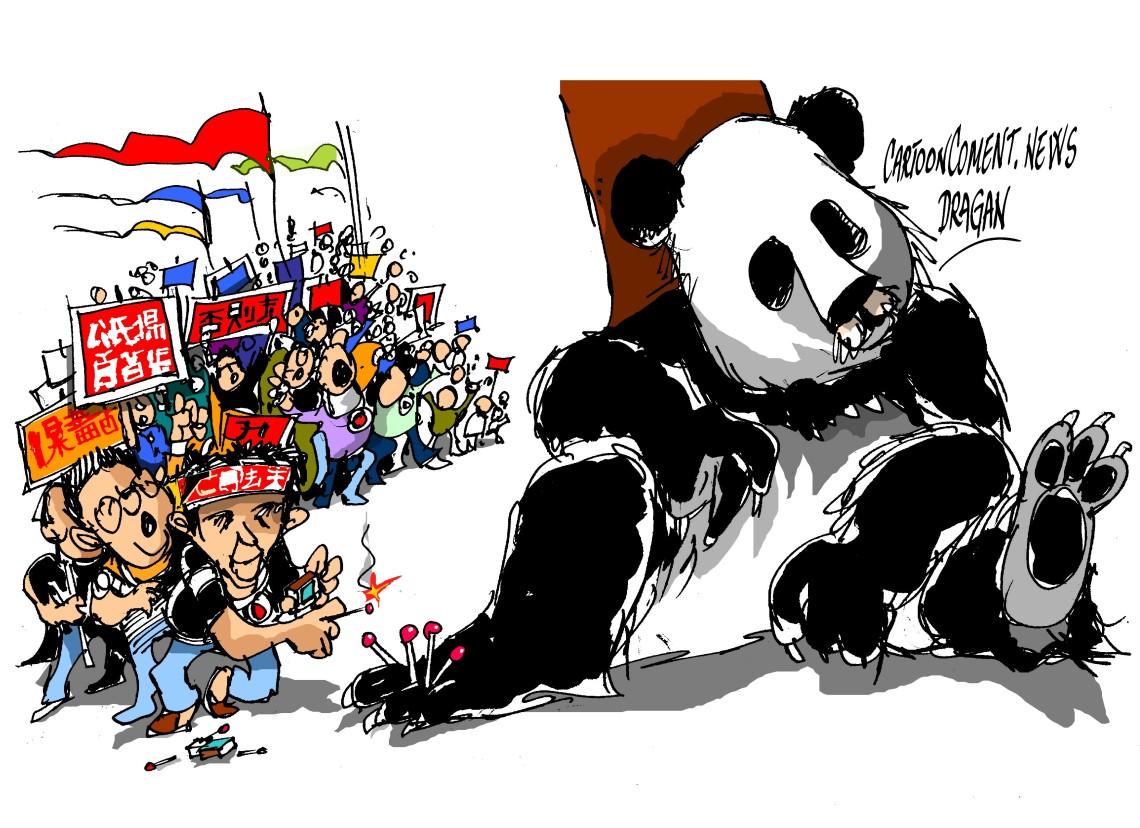 "China-""tensión"""