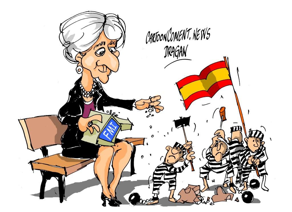 "Christine Lagarde-""sacrificando"""