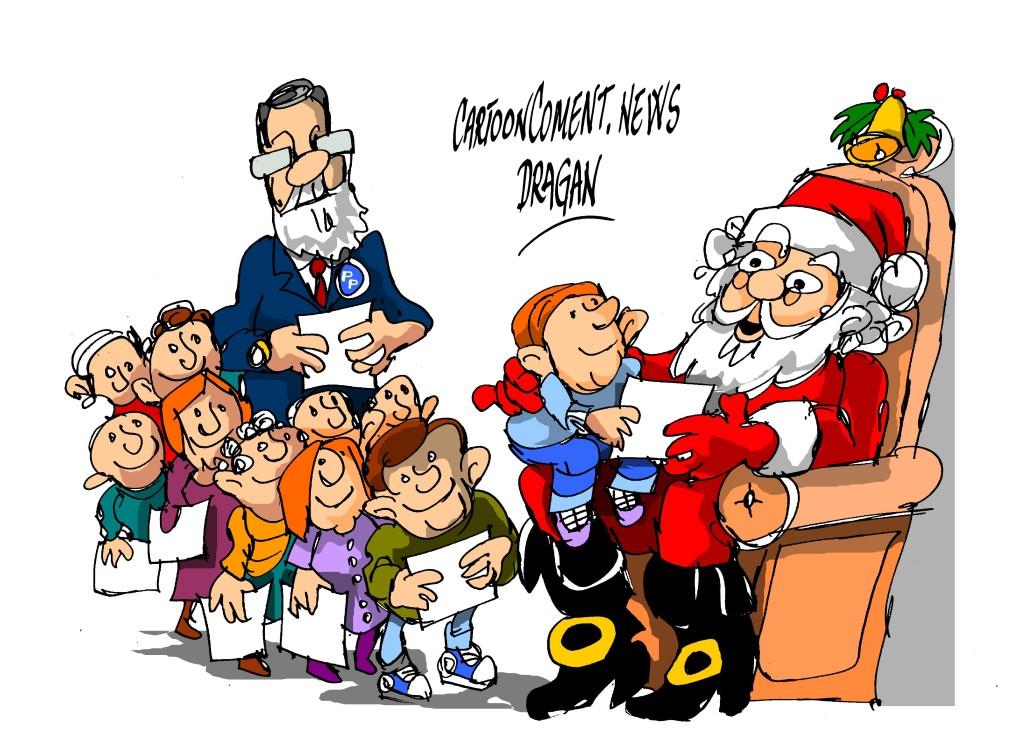 """Mariano Rajoy-""""Papa Noel"""""""