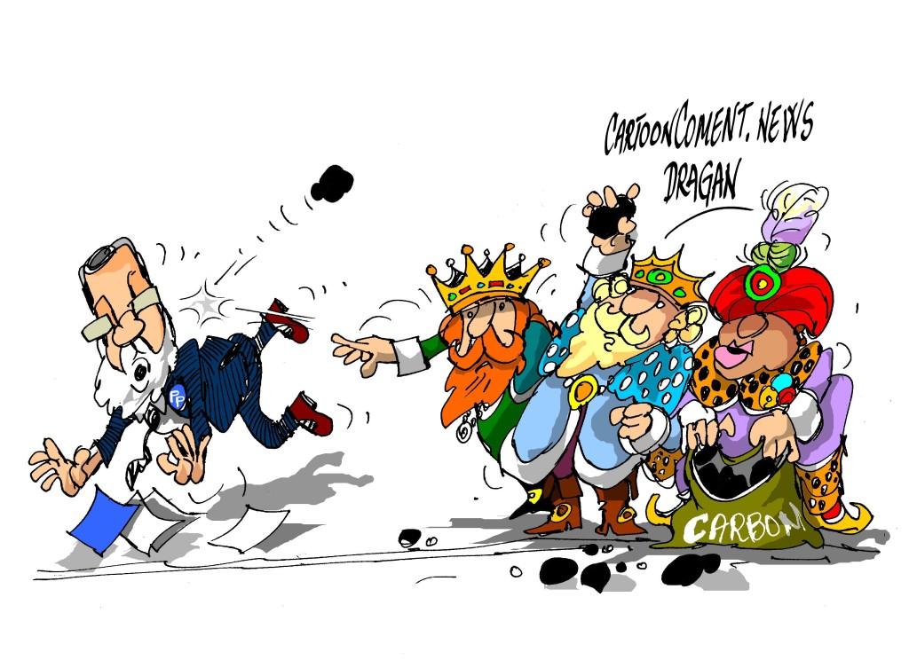 Mariano Rajoy-Los Reyes Magos