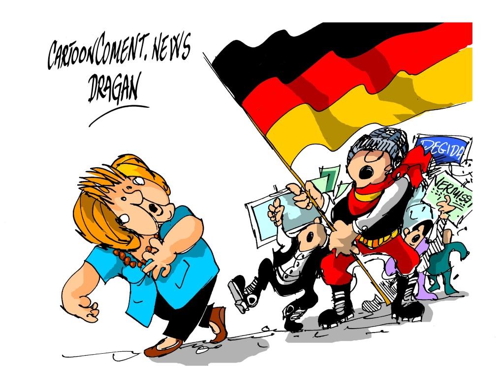 """Angela Merkel-""""Pegida"""""""