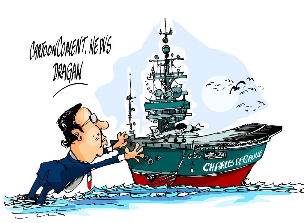 """François Hollande-""""Charles de Gaulle"""""""