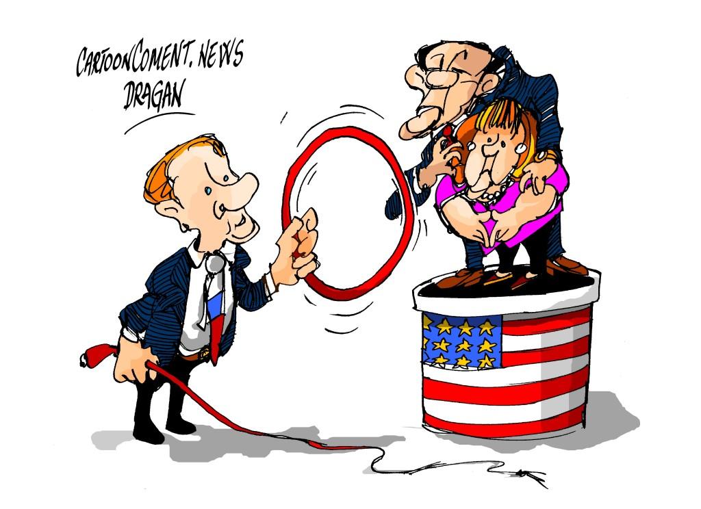 """Obama-Merkel-Putin-""""unidad"""""""
