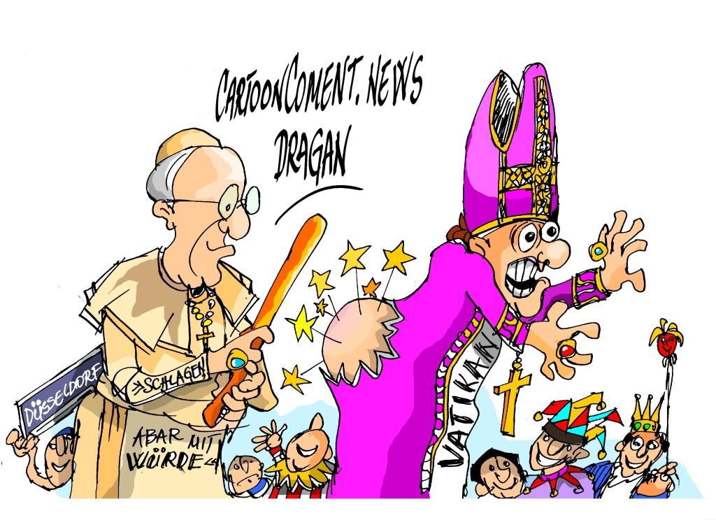 El Papa en el carnaval