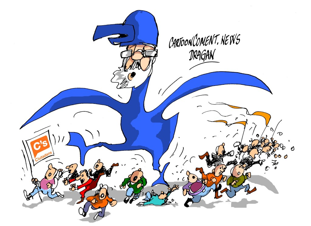 Rajoy-Ciudadans-'Birdman'