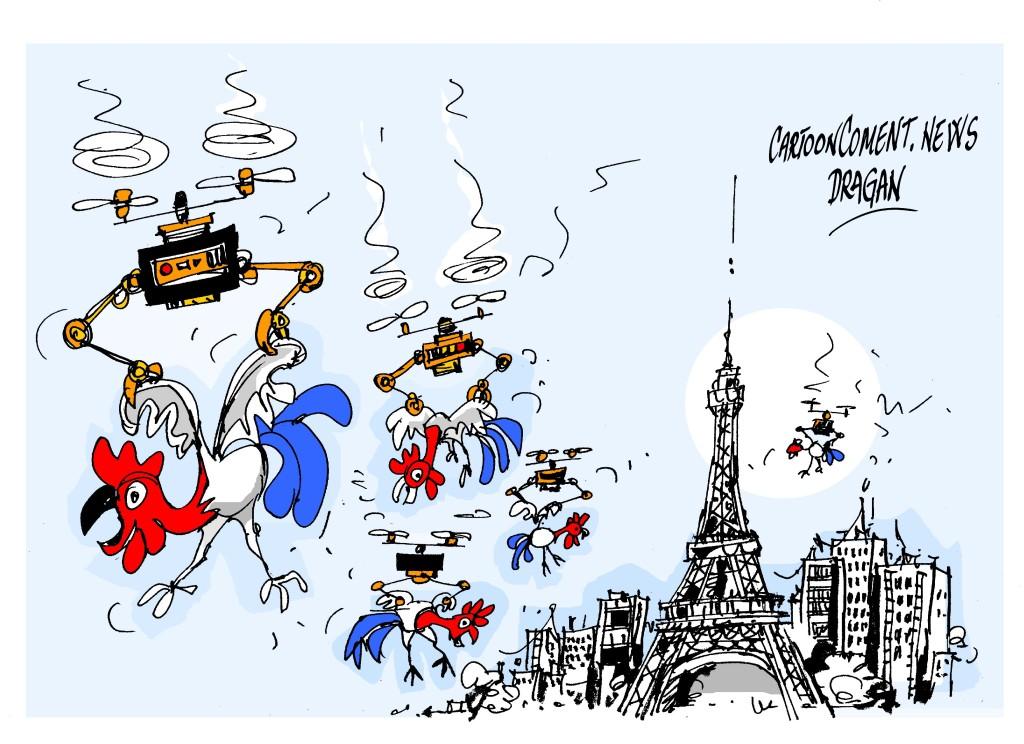 París- 'drones'