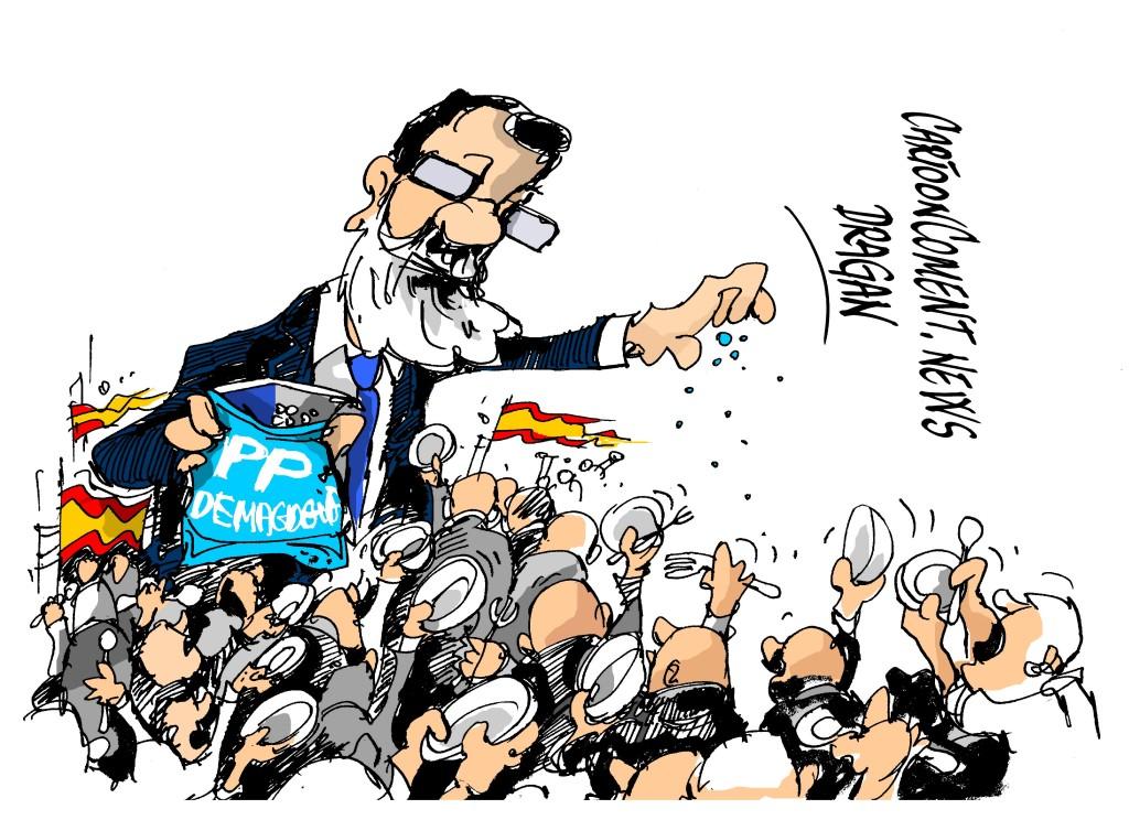 """Mariano Rajoy-""""dando trigo"""""""