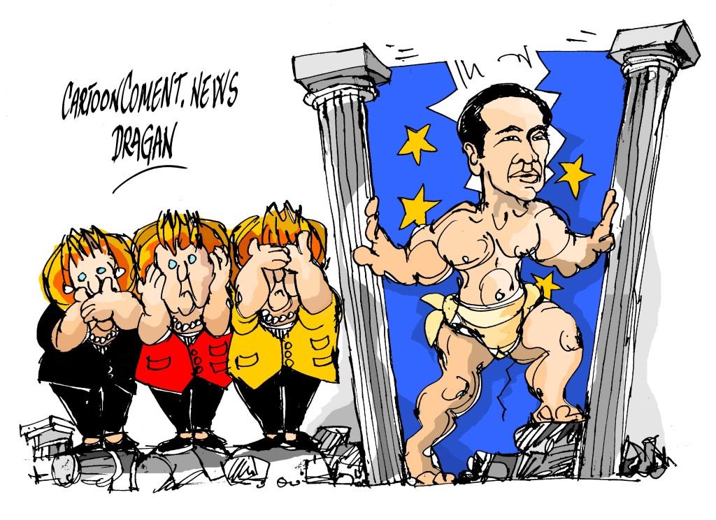 """Merkel-Tsipras-""""Hércules"""""""
