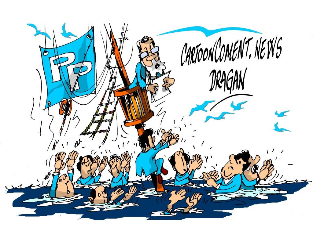 "Mariano Rajoy-PP""partido hundido"""