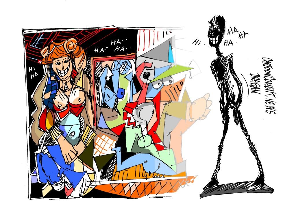 """Picasso-Giacometti-""""puja"""""""