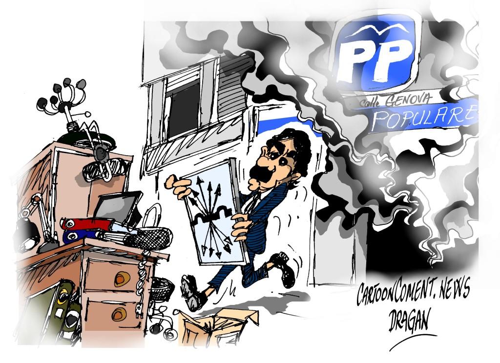 """José María Aznar-""""salvando los muebles"""""""