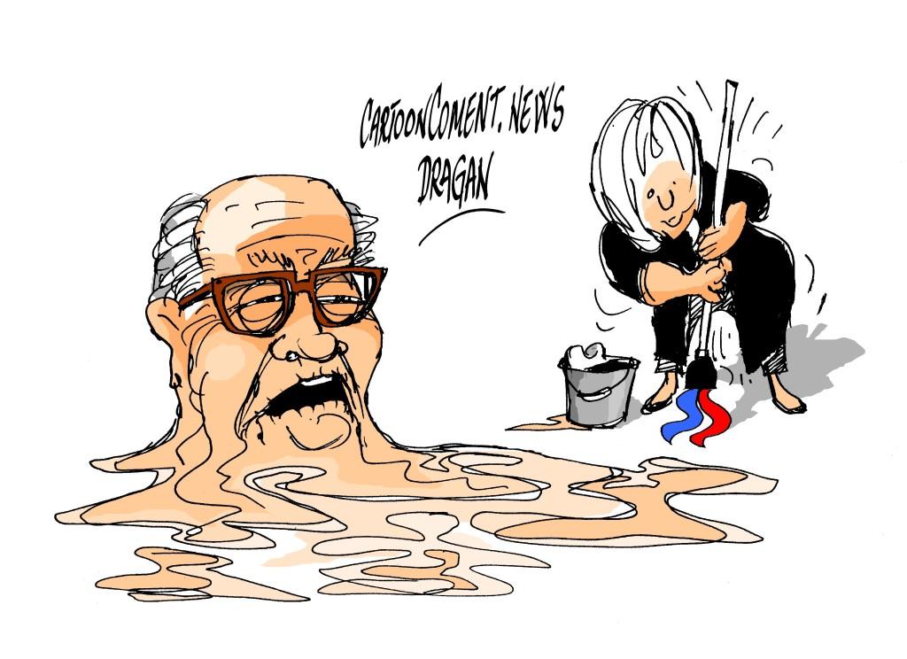 Jean-Marie Le Pen- Marine Le Pen