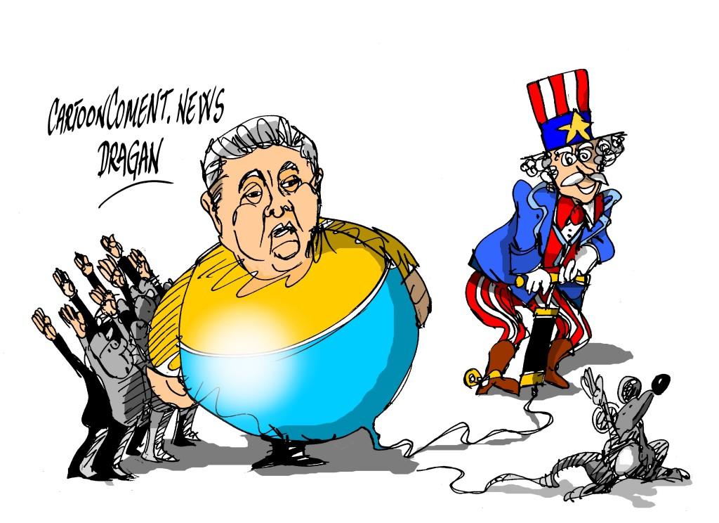 """Poroshenko-""""guerra"""" con Rusia"""