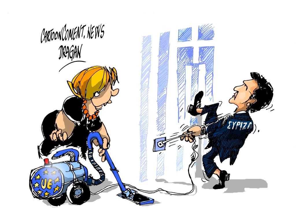 Merkel-Tsipras- «los errores del pasado»