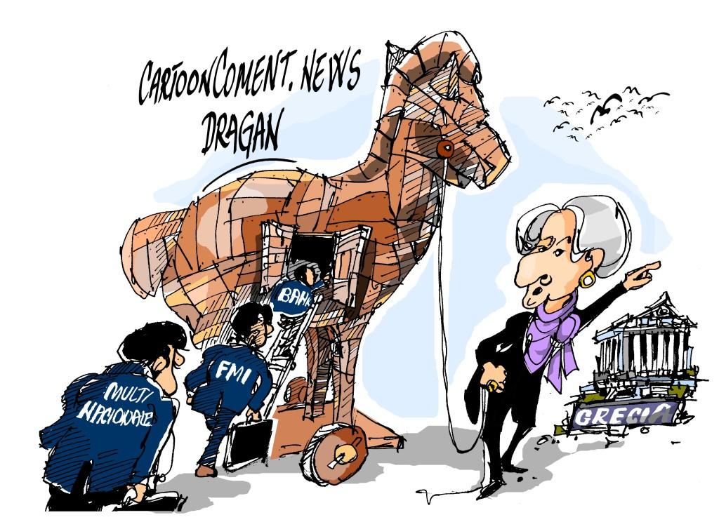 "Lagarde-FMI-""Troyano"""