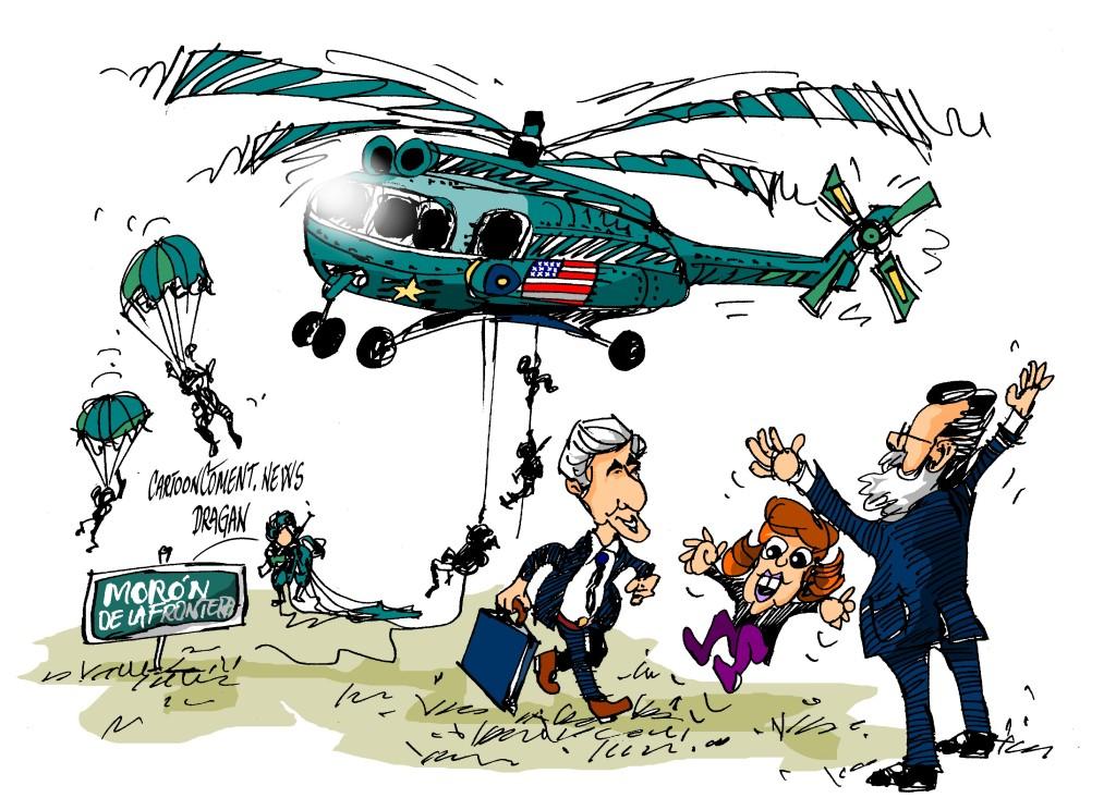 """John Kerry-Soraya-Rajoy-""""Morón"""""""
