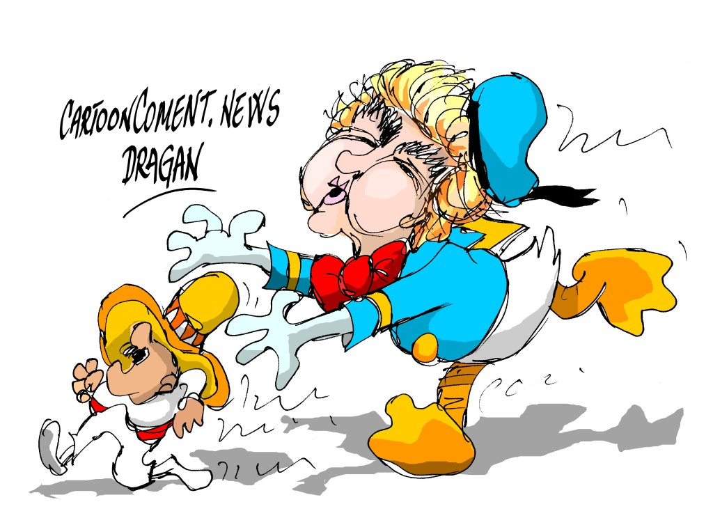 """Donald-""""plan de inmigración"""""""