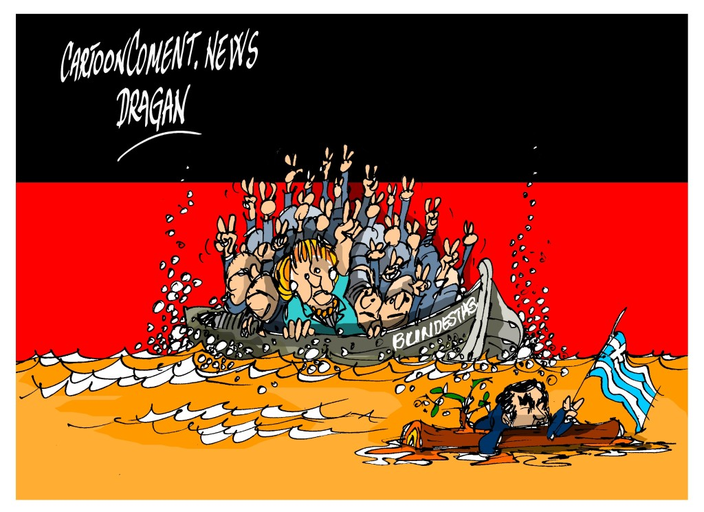 "Angela Merkel-""mayoría"""