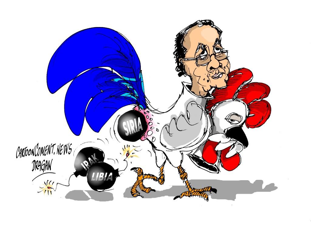 """François Hollande-""""anúncio"""""""