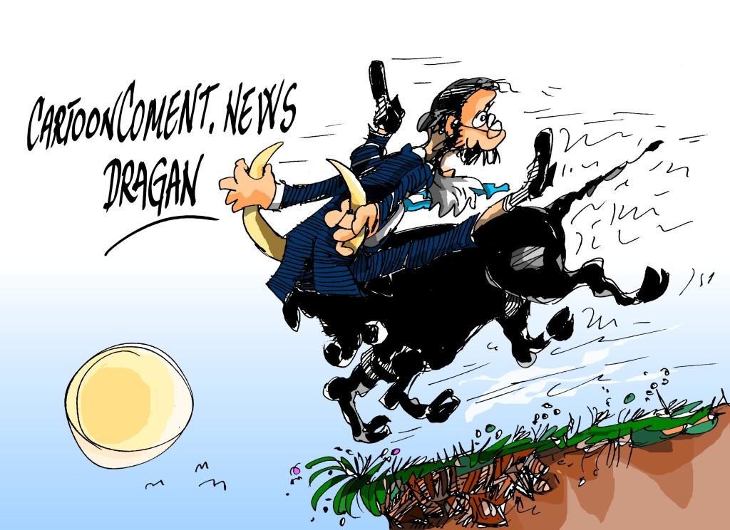 """Mariano Rajoy-""""cogiendo el toro por los cuernos"""""""